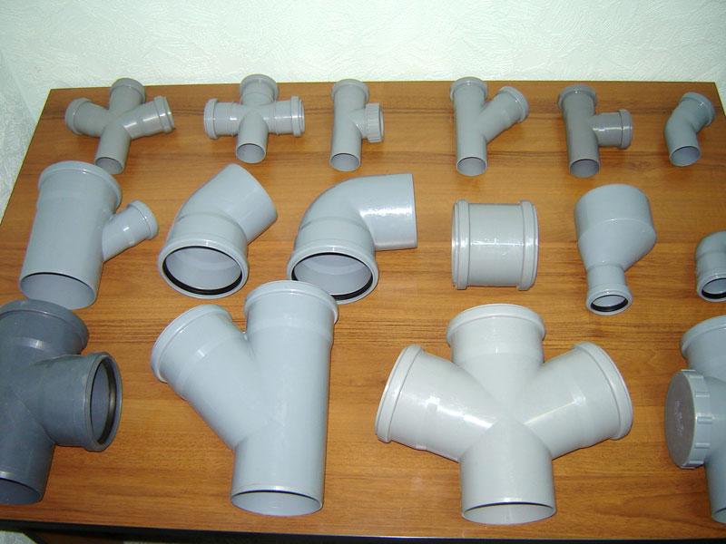 Трубы пластик для слива
