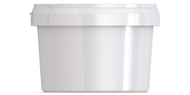 Ведро пластиковое с крышкой JETB 650
